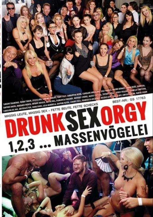 DRUNK SEX ORGY 1,2,3 MASSENVÖGELEI