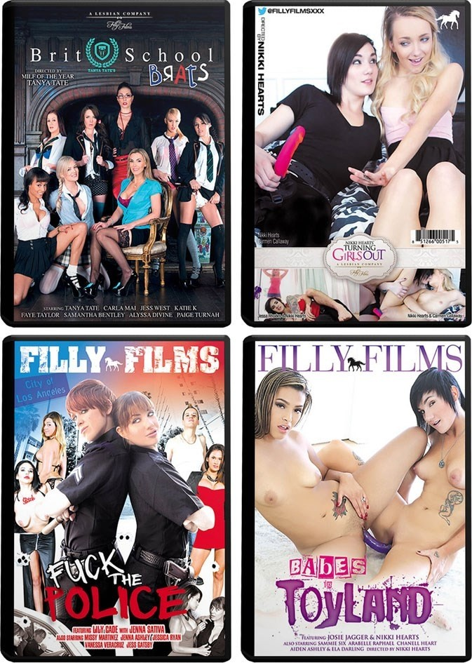 Filly Films D 10-PACK