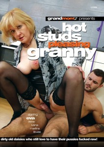 Hot Studs Pleasing Granny