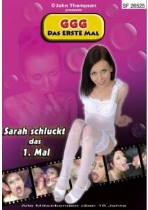 SARAH SCHLUCKT DAS 1.MAL