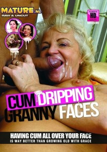 Cumdripping Granny Faces
