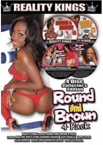BOX Round And Brown 4 Pack
