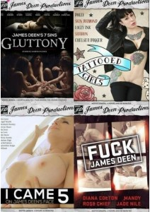 BOX James Deen Productions: 4-Pack #5