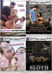 BOX James Deen Productions: 4-Pack #7