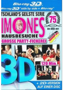 3D-BR Simones Hausbesuche - Die grosse Party-Fickerei (3D + 2D) 1 Disc