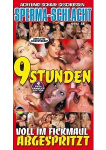 BOX 9 Stunden Voll im Fickmaul abgespritzt (4 DVD)