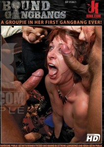 A Groupie in Her First Gangbang Ever!