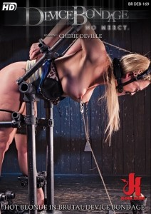 Hot Blonde in Brutal Device Bondage