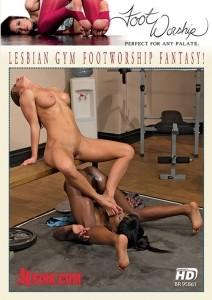 Lesbian Gym Footworship Fantasy!