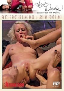Footsie Footsie Bang Bang: A Lesbian Foot Bang!