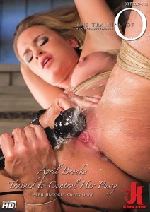 April Brooks Trained to Control Her Pussy